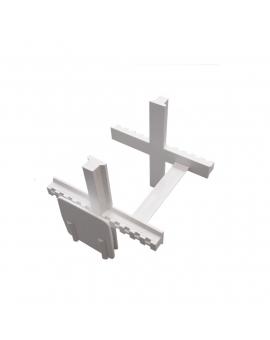 Distanční křížek 5 mm / 8 cm