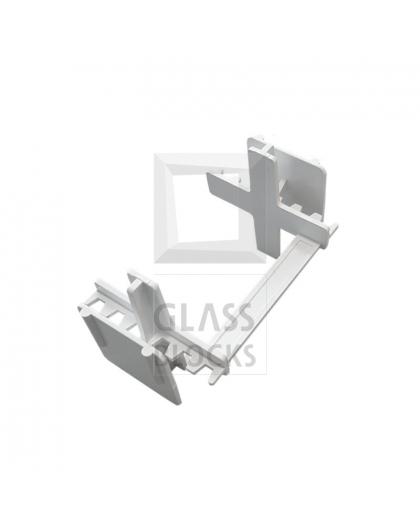 Distanční křížek 2 mm / 8 cm
