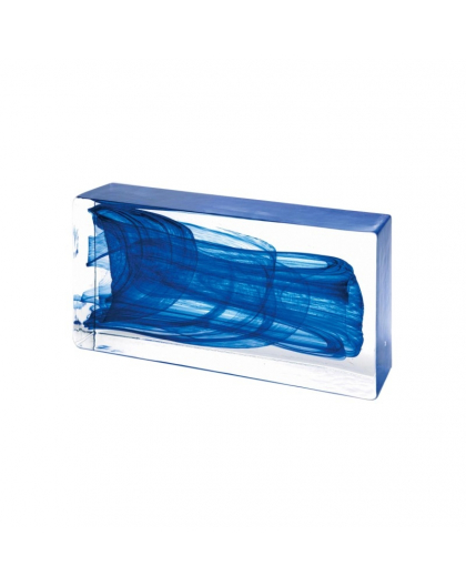 DARK BLUE Glass Brick