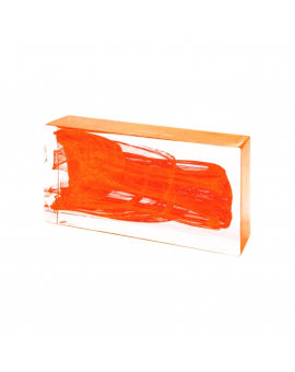 ORANGE Glass Brick