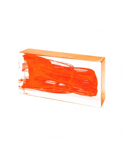 ORANGE Glass Brick