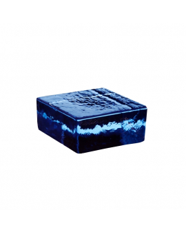 Vetropieno Blu Half Brick