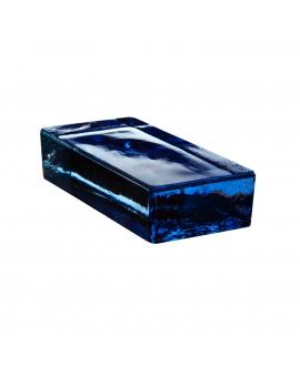 Vetropieno Blu Brick